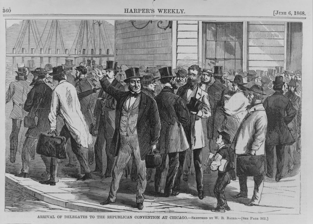 1868 Republican Convention in Chicago