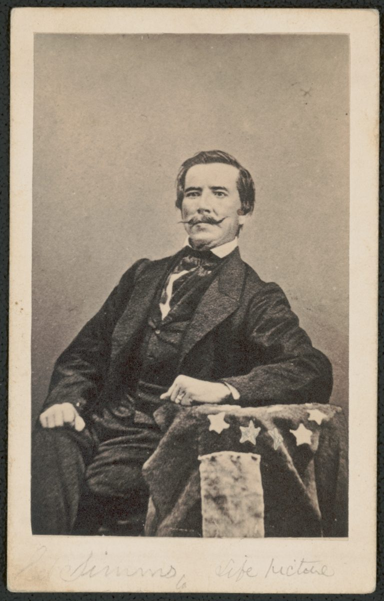 Captain Raphael Semmes of the Confederate Navy