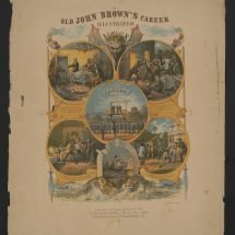 Old John Brown's Career Illustrated.