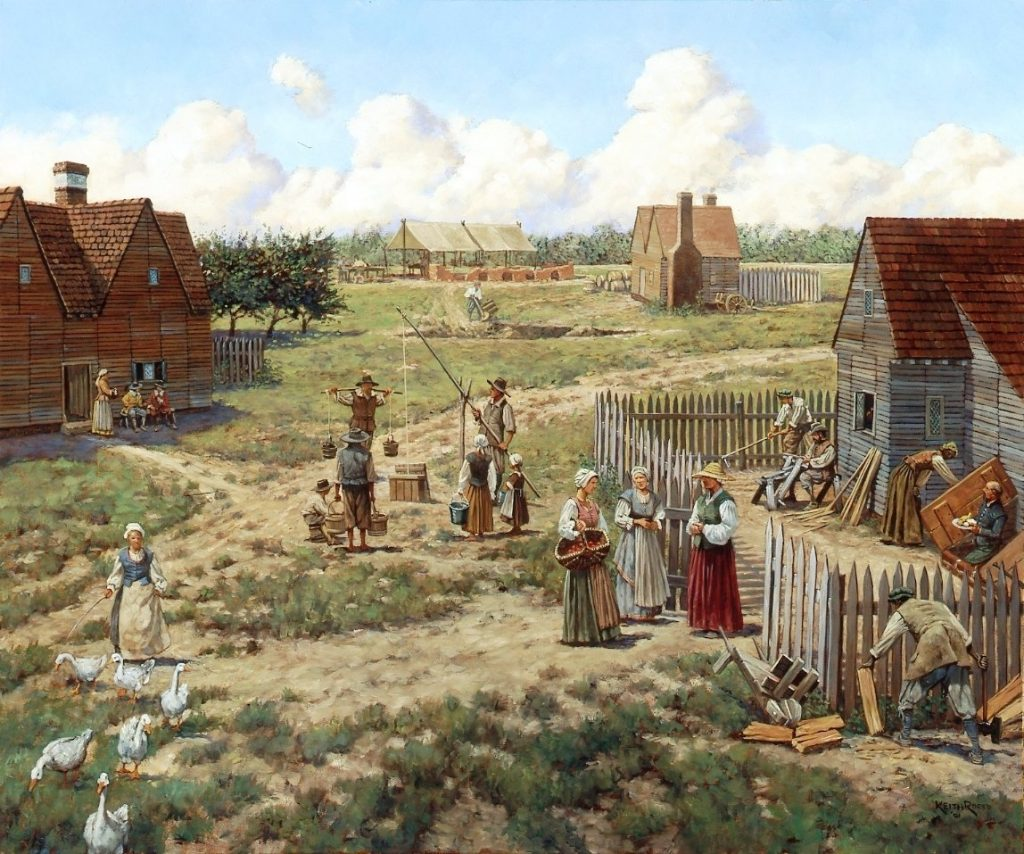Jamestown 1630s: Harvey's Industrial Enclave