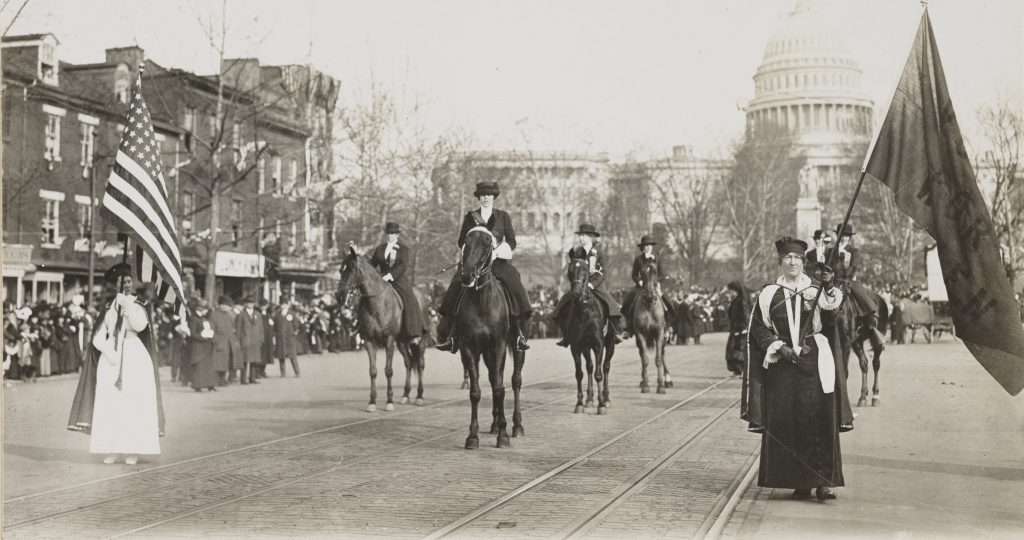 Woman Suffrage Parade in Washington
