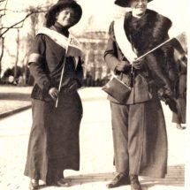 Suffragists Elizabeth Otey and Her Mother