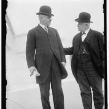 Senator Thomas S. Martin of Virginia with Senator Frank Flint of California