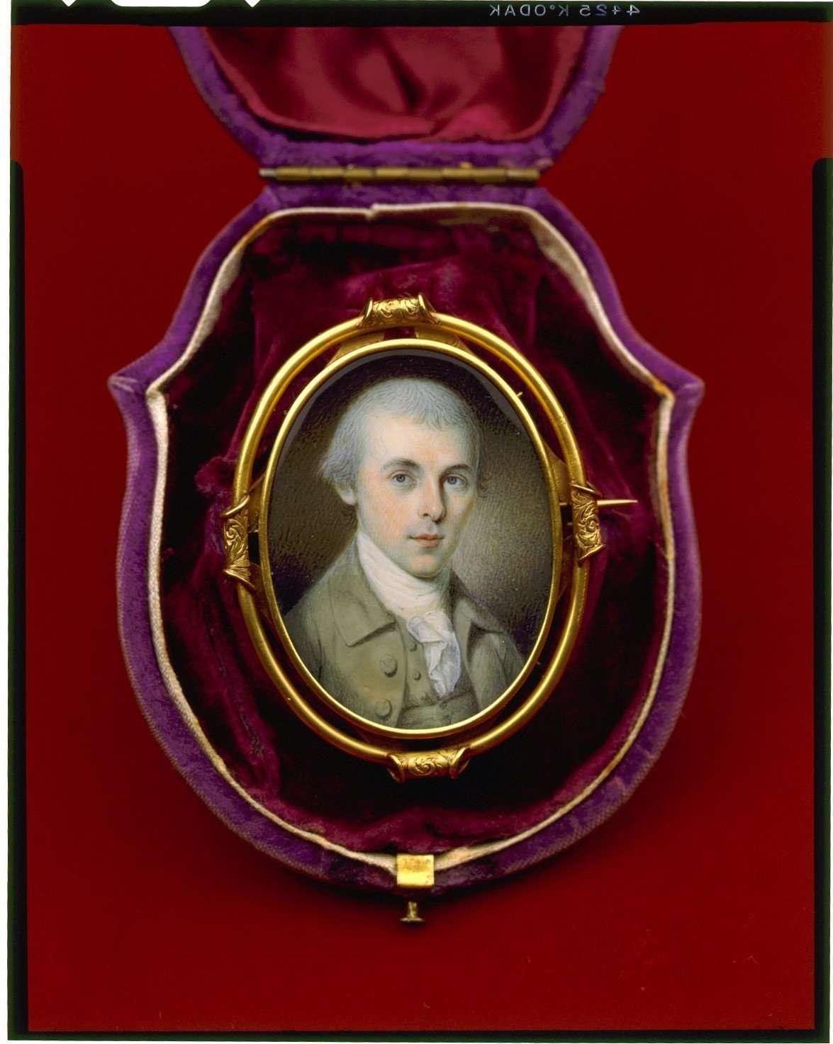 Miniature Portrait of James Madison
