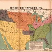 The Missouri Compromise. 1820.
