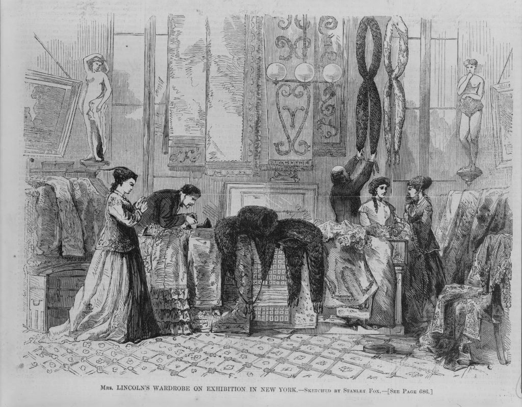 Mrs. Lincoln's Wardrobe on Exhibition in New York