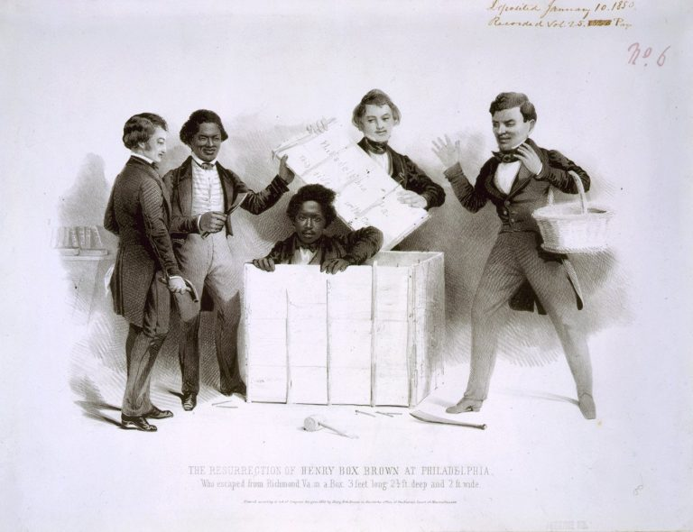The Resurrection of Henry Box Brown at Philadelphia