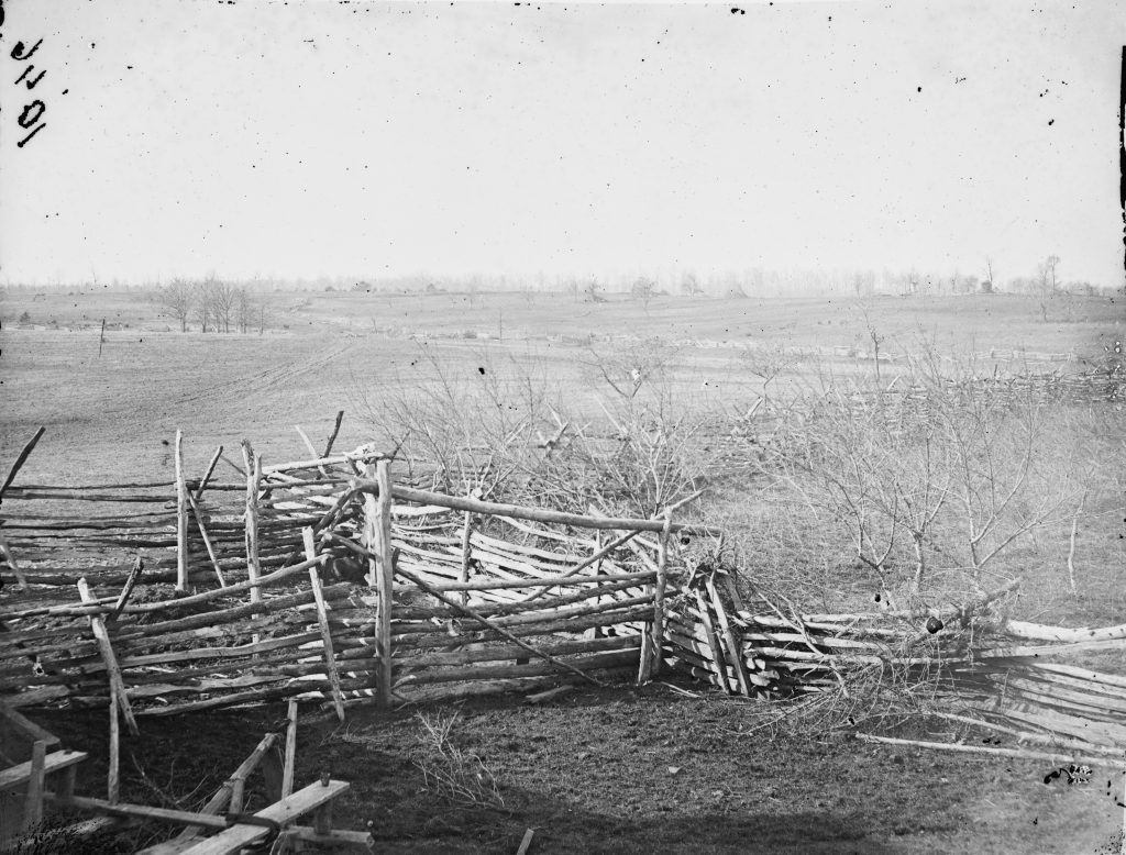 View of the Battlefield at First Manassas