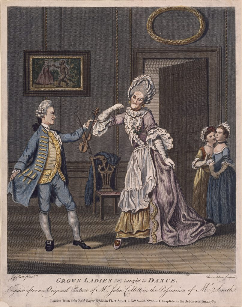 GROWN LADIES &c. taught to DANCE