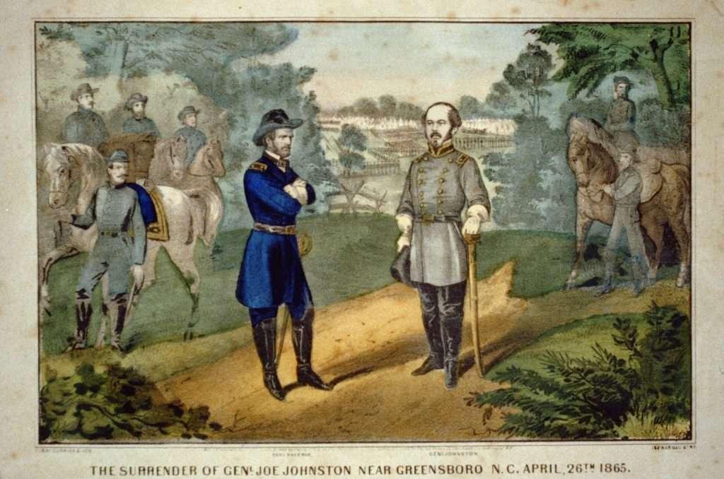 Surrender of General Joseph Johnston