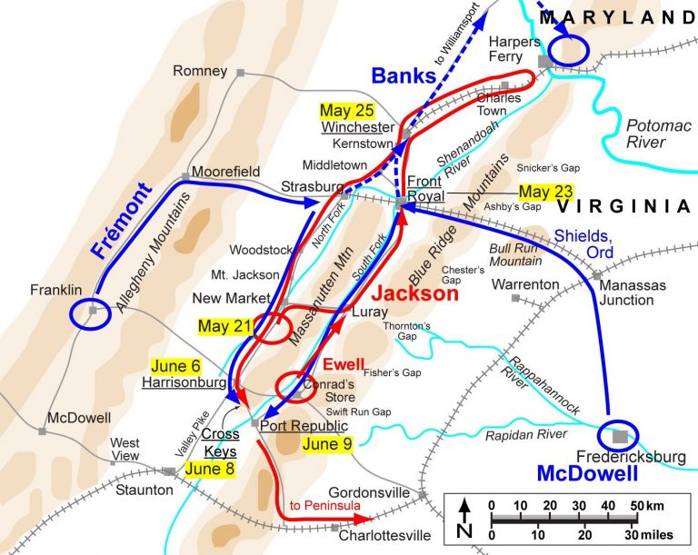 Jackson's Valley Campaign: Front Royal to Port Republic