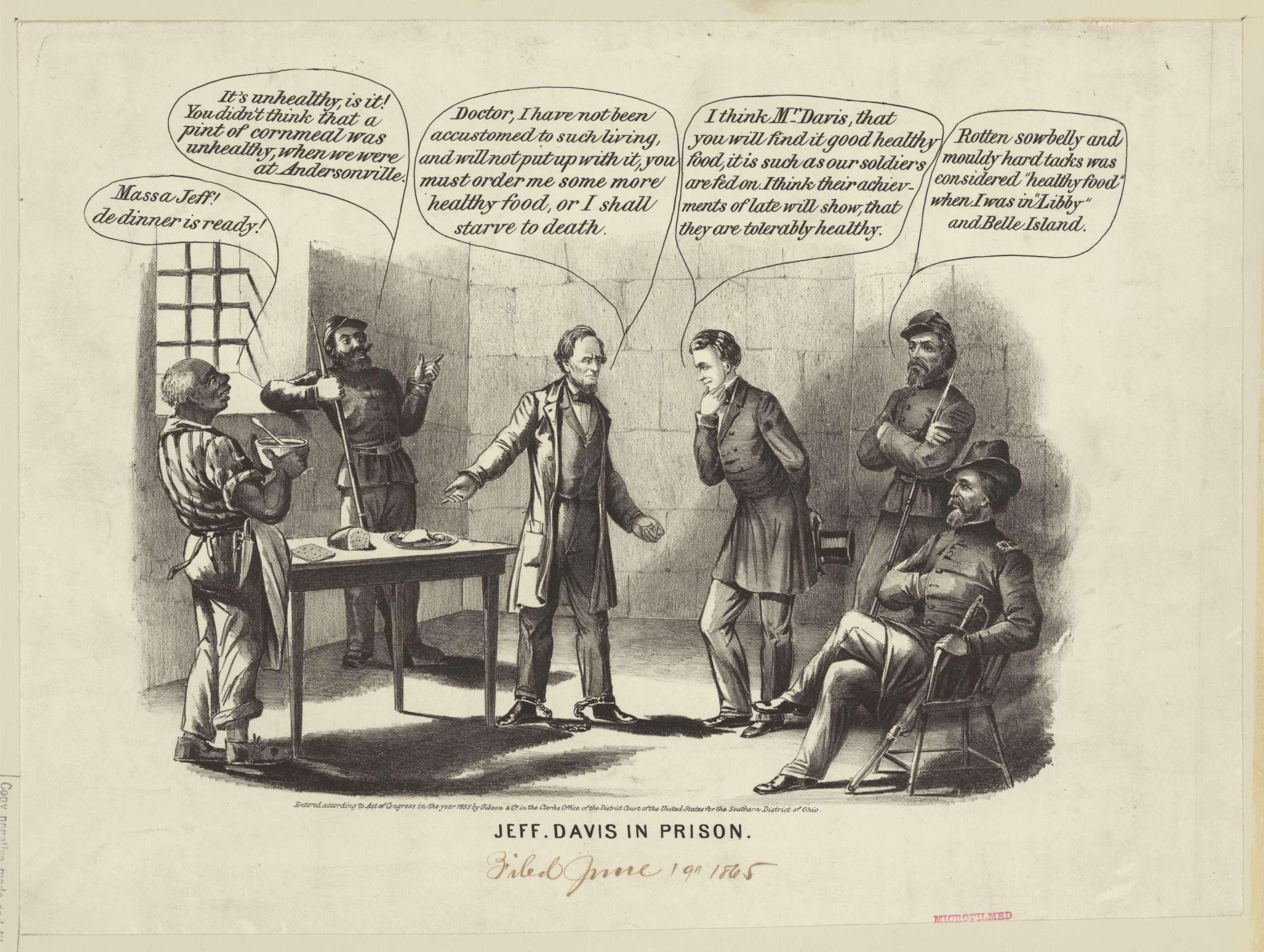 Jeff. Davis in Prison