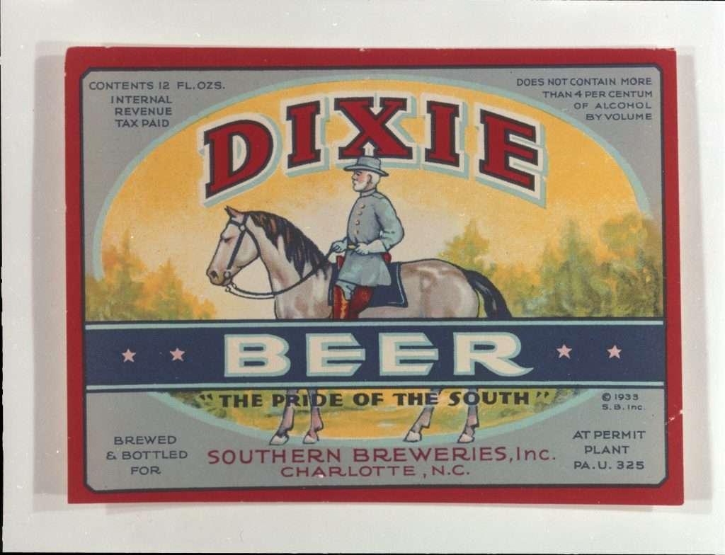 Dixie Beer Advertisement Featuring Robert E. Lee
