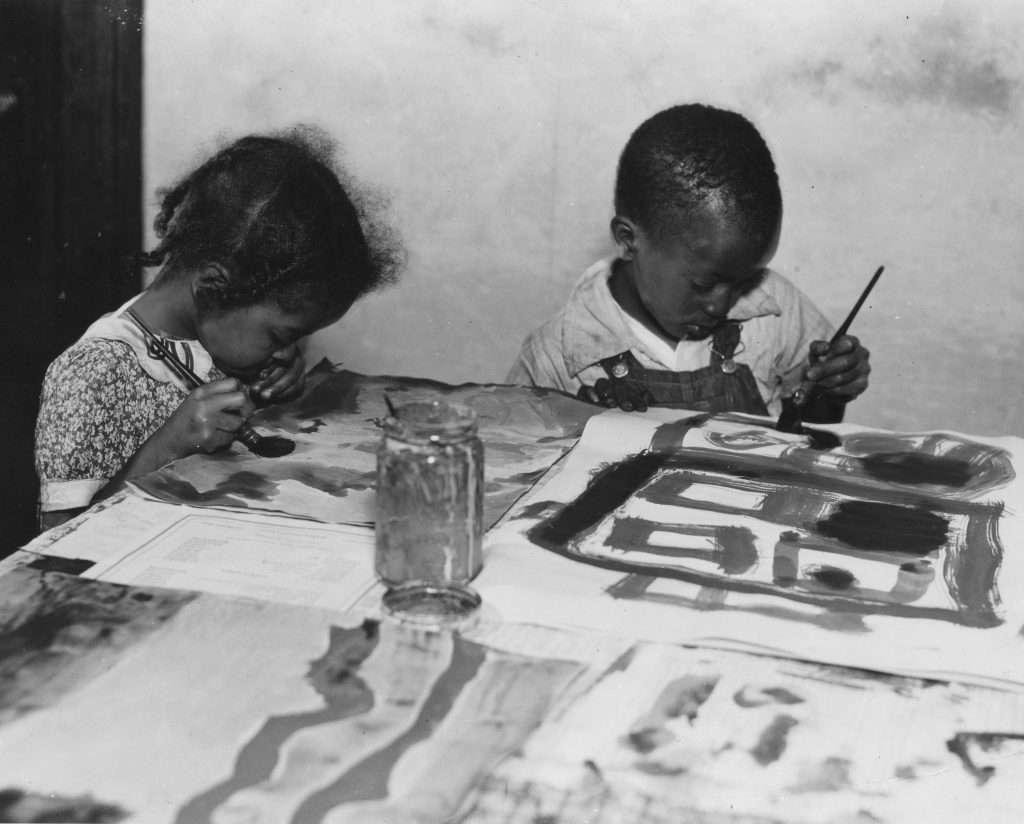 Class at the Lynchburg Art Gallery