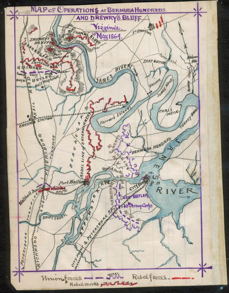 The Army of the James in May 1864