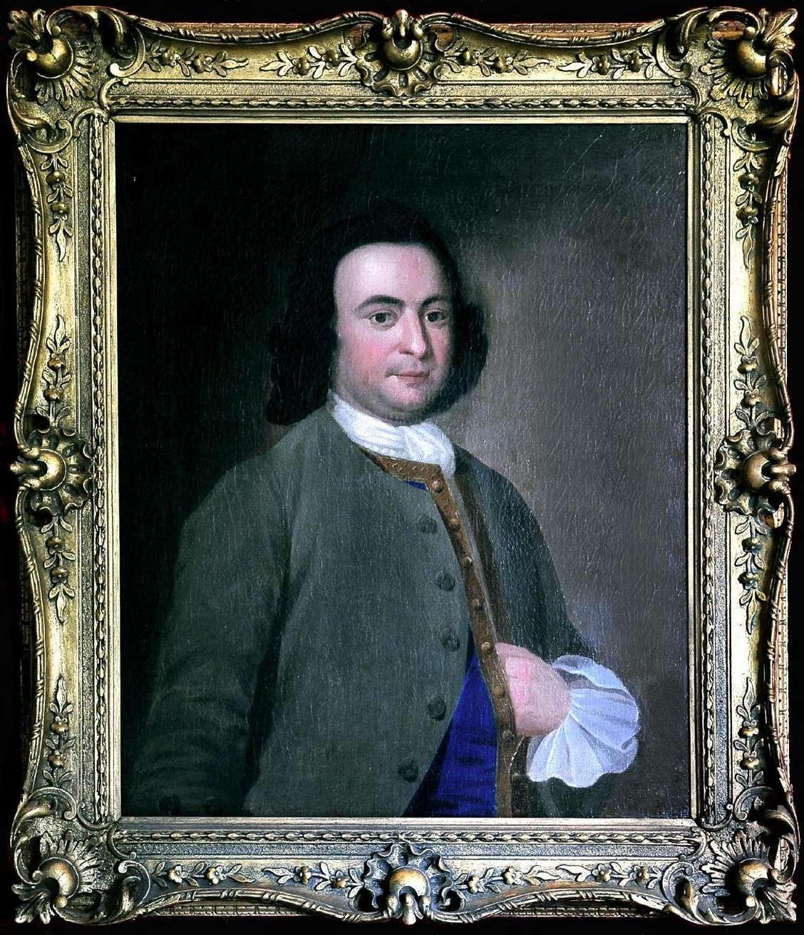Wedding Portrait of George Mason