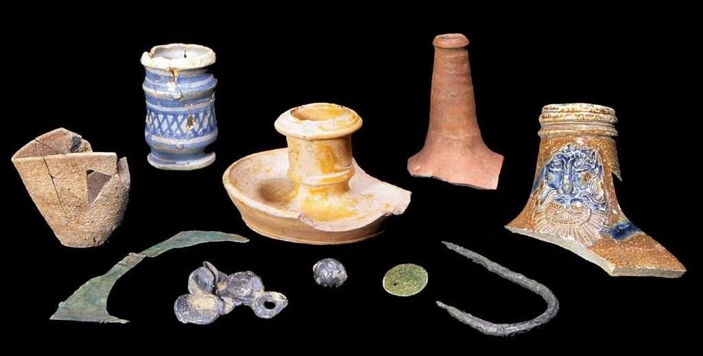 Artifacts Excavated at Jamestown