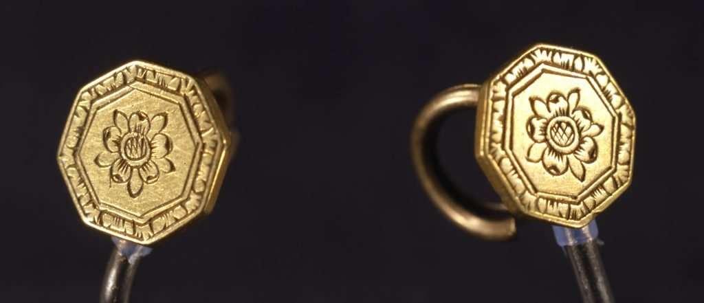 Pocahontas's Gold Buttons
