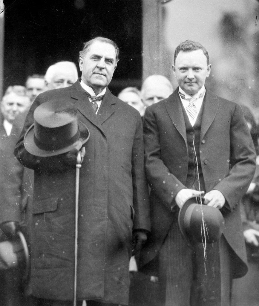 Governor Harry F. Byrd's Inauguration