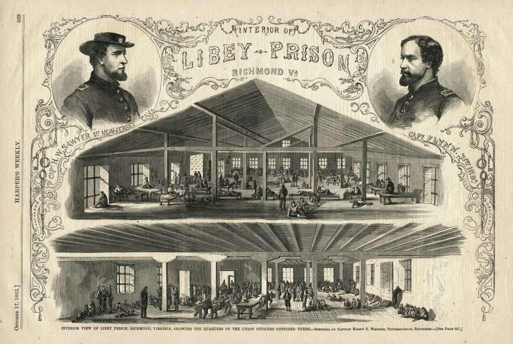 Libby Prison Interior
