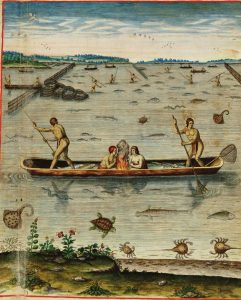 Fishing and Shellfishing by Early Virginia Indians