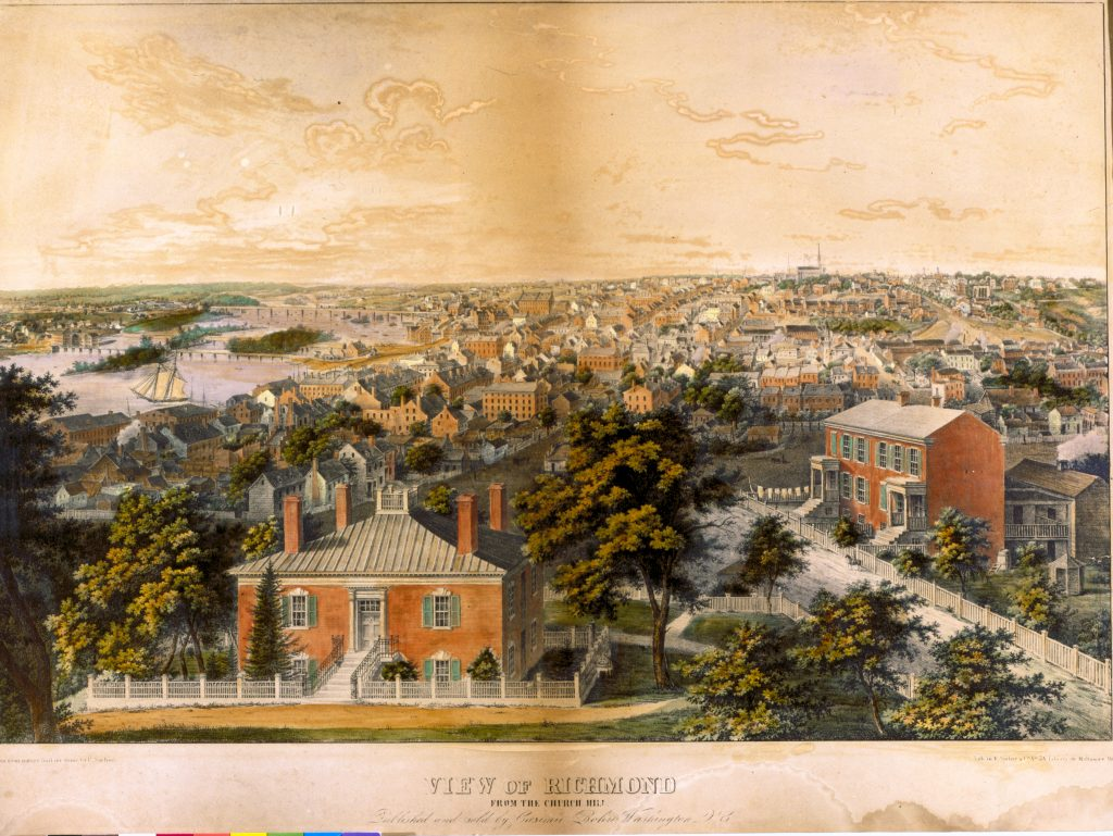 View of Richmond from Church Hill