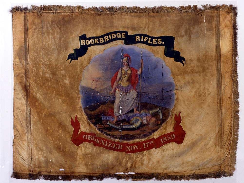 Flag of the Rockbridge Rifles