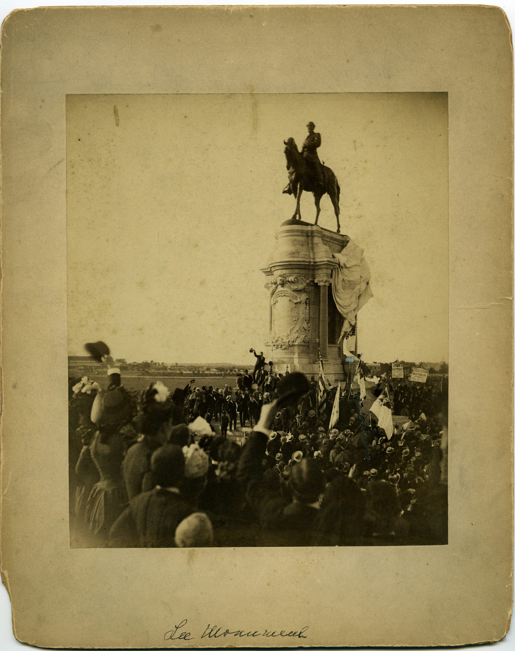 Unveiling of Lee Monument