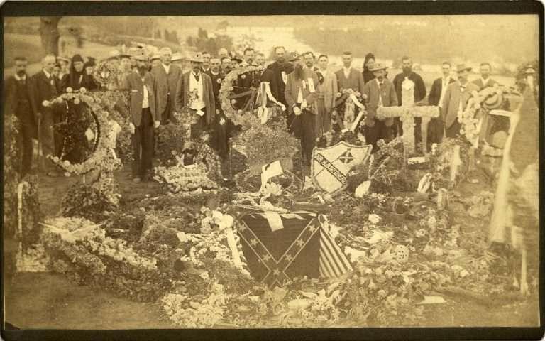 Jefferson Davis's Gravesite in Richmond