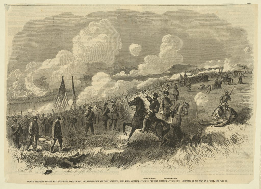 Colonel Burnside's Brigade