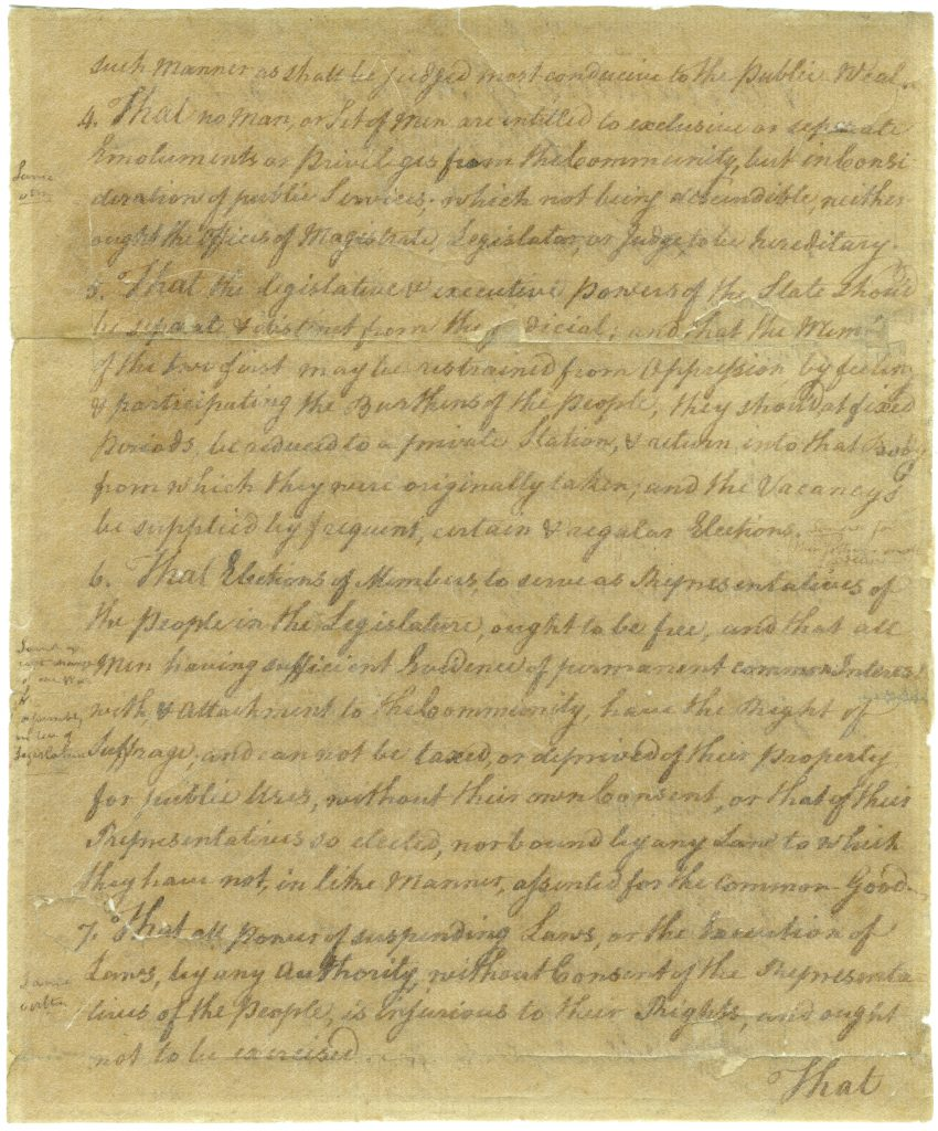 Virginia Declaration of Rights