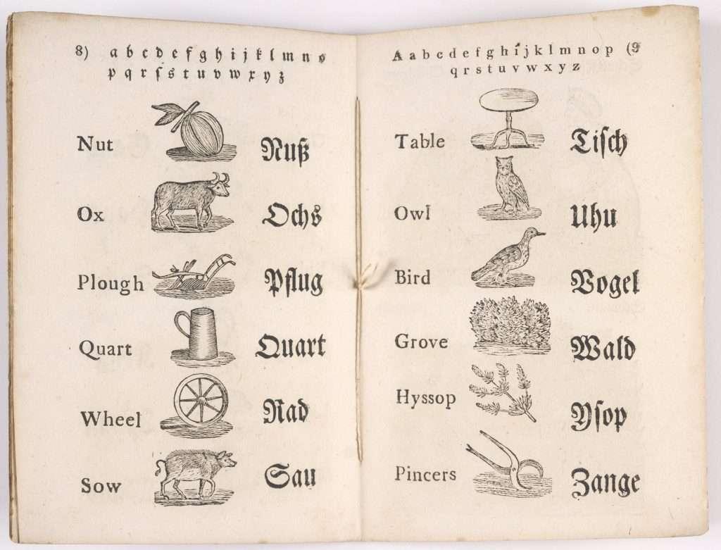 A B C-und Bilder-Buch