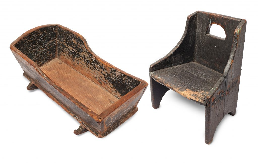 Slave-Made Furniture for a White Child