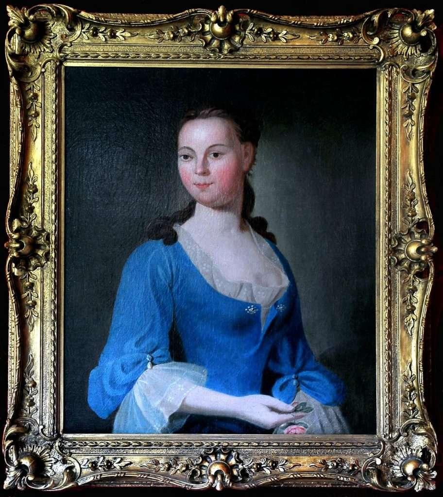Wedding Portrait of Ann Eilbeck Mason