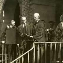 John Stewart Bryan Speaking During Inaugural Ceremonies