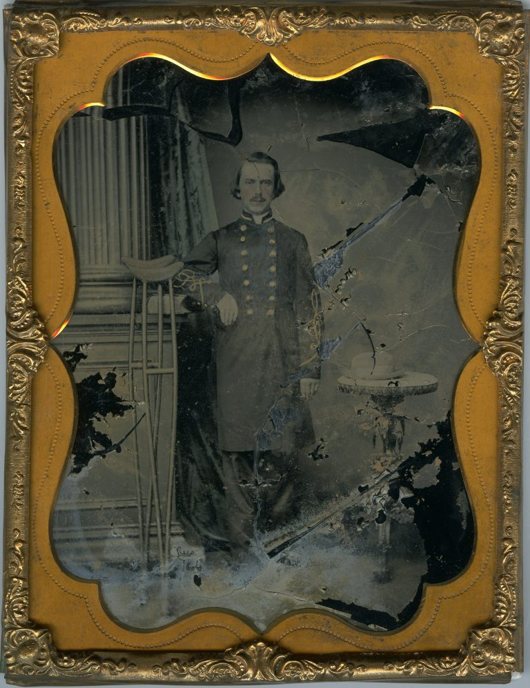 Portrait of a Confederate Lieutenant
