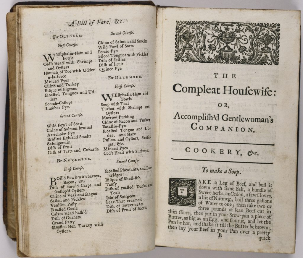 The Compleat Housewife; or