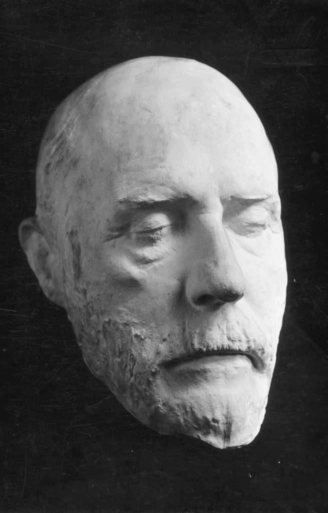 Death mask of Robert E. Lee