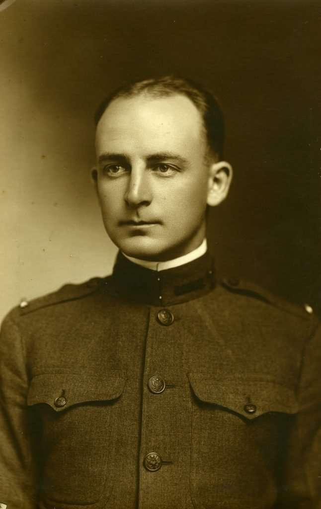 Joseph Lenoir Chambers during World War I