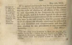 Surrender to Parliament (Treaty of Jamestown)