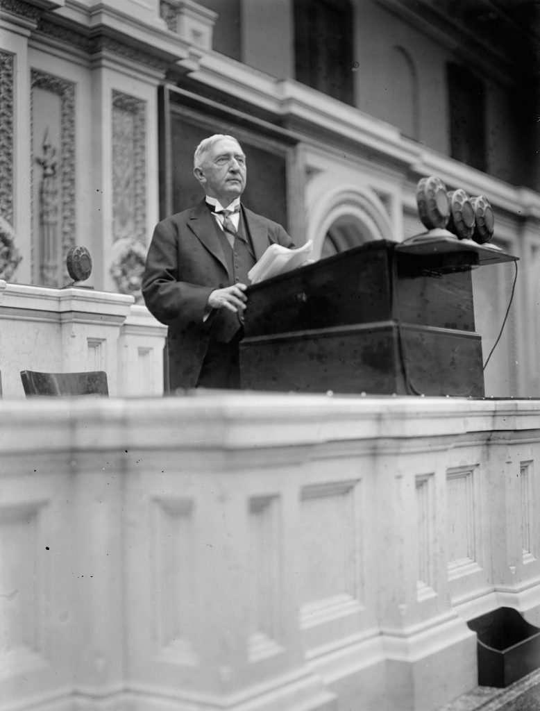 Edwin Alderman at Wilson's Memorial Service
