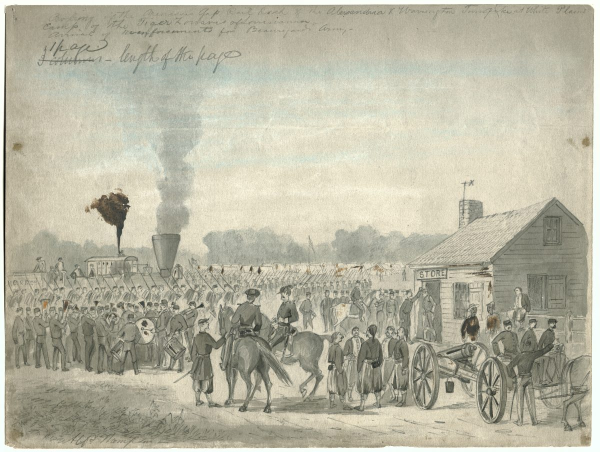 Transporting Confederate Troops