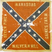 Flag Captured During Pickett's Charge