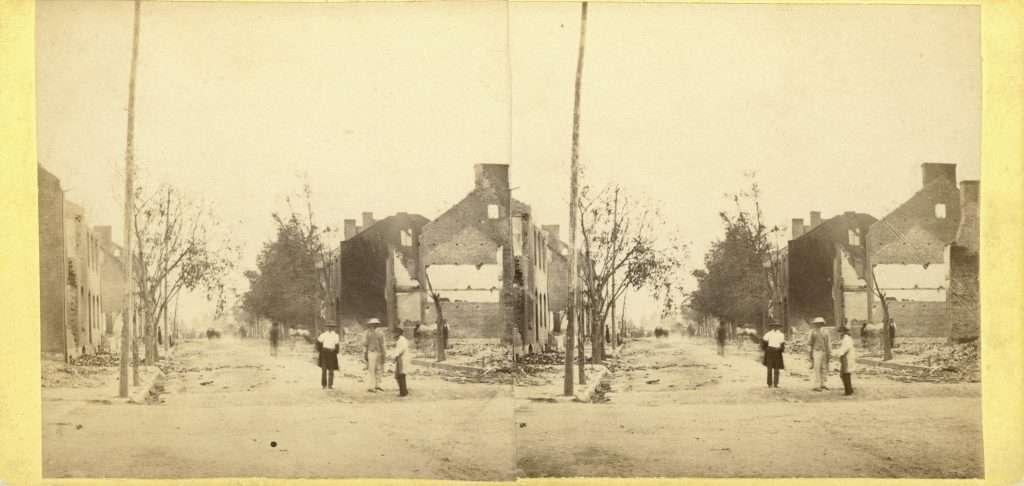 Destruction of Chambersburg