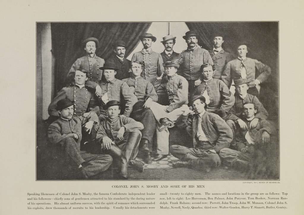 Colonel John S. Mosby and Some of His Men