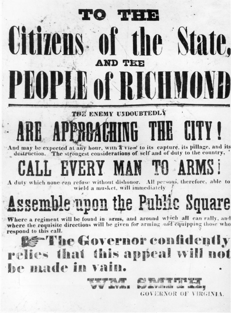 Call to Arms in Richmond