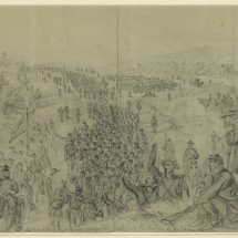 Sheridan's army following Early up the Valley of the Shenandoah
