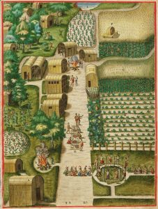 Towns and Town Life in Early Virginia Indian Society
