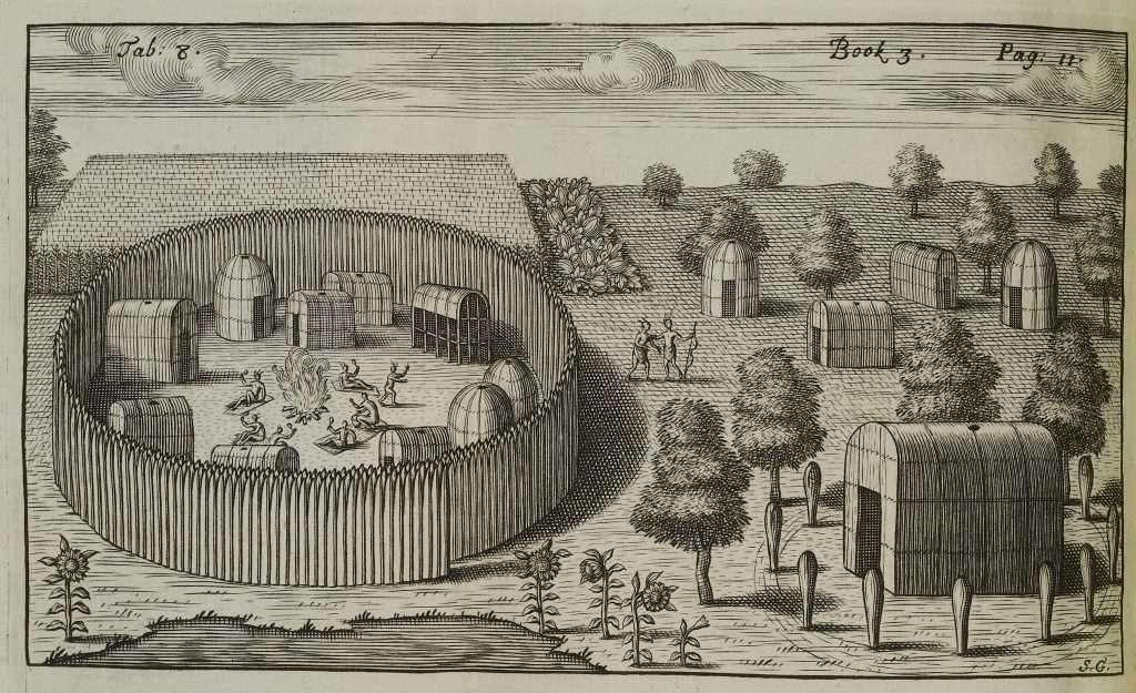 Virginia Indian Settlement