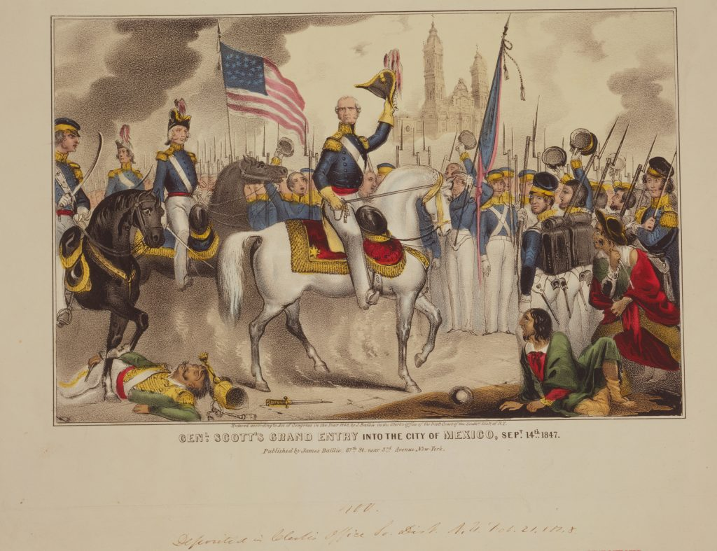 General Scott's Grand Entry into the City of Mexico